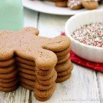 Chocolate Gingerbread Man Cookies