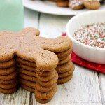 Chocolate Gingerbread Man Cookies