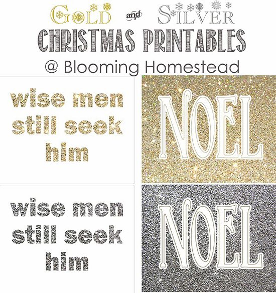 Christmas Printable from Blooming Homestead