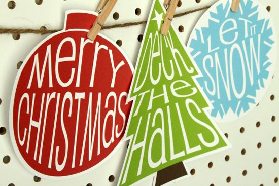 Christmas Printables from Crafted by Lindy