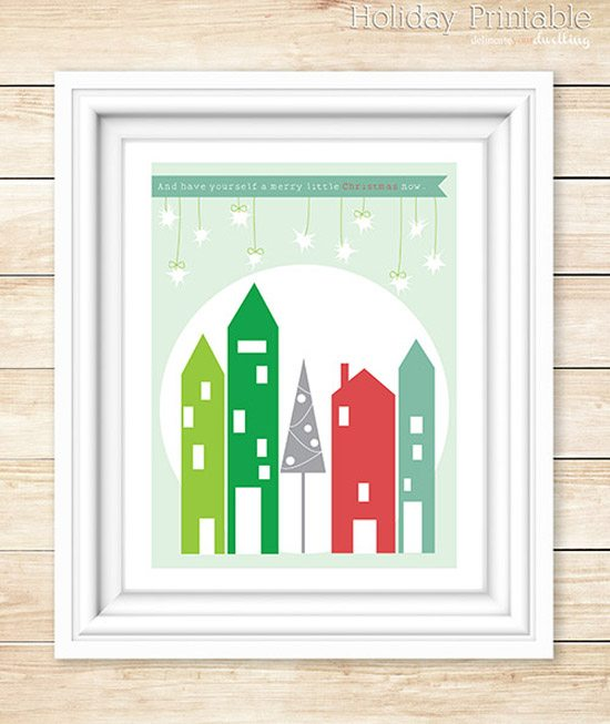 Christmas Printable from Delineate Your Dwelling