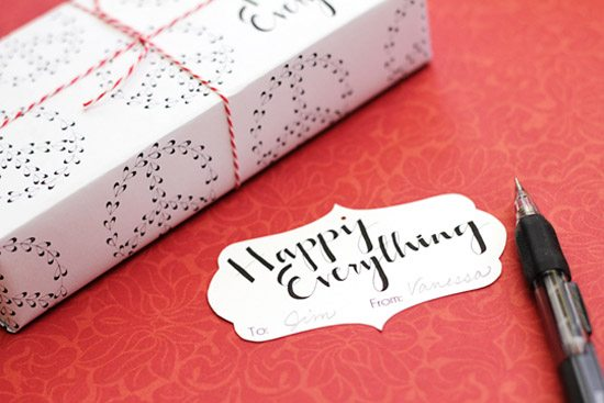 Christmas Printable from Tried and True Blog.