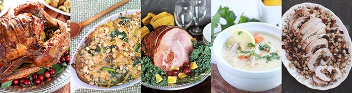 Thanksgiving Recipes.  Main Dishes.