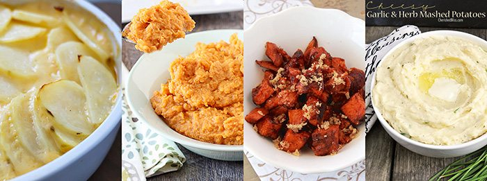 Thanksgiving Recipes. Side Dishes. Potatoes.