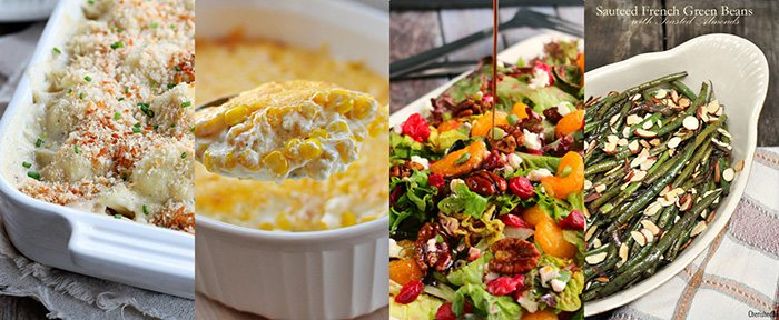 Thanksgiving Recipes.  Side Dishes.  Vegetables