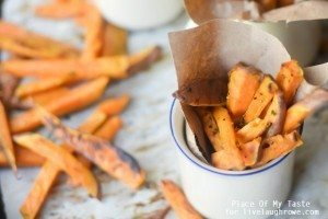 Roasted Sweet Potato Fries