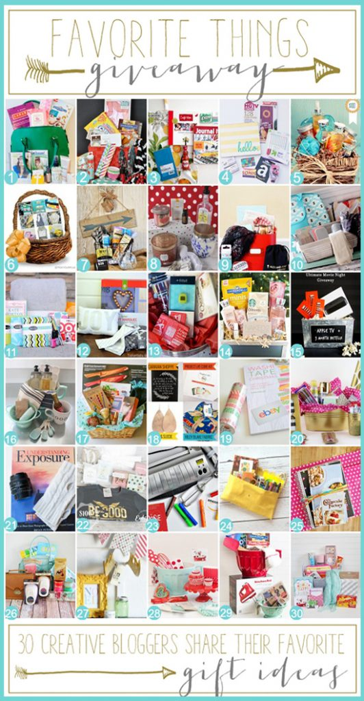 Favorite Things Giveaway with Live Laugh Rowe and FRIENDS!