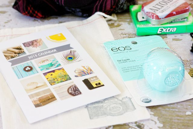 Favorite Things Giveaway. Deks Calendar and EOS lip gloss