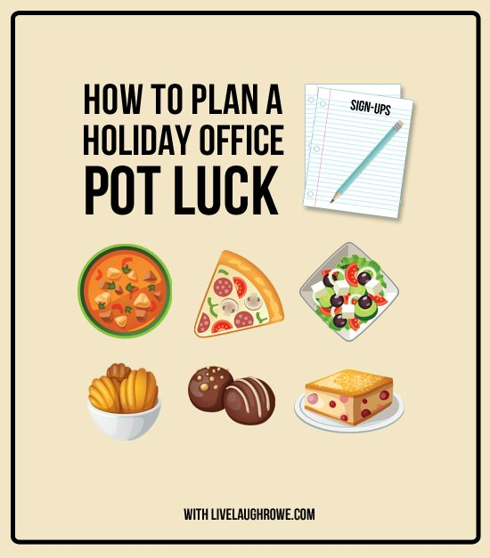 How To Plan A Holiday Office Potluck