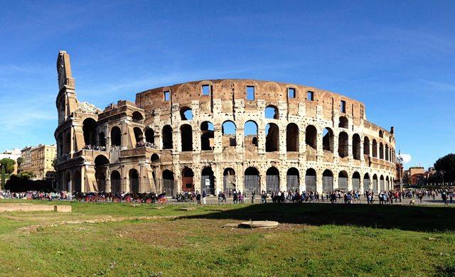 Roman Colasseum. Rome, Italy