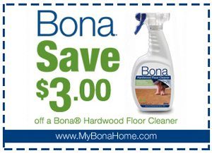 Save $3 on Bona Cleaner