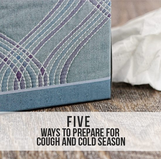 5 Ways to Prepare for Cough and Cold Season with www.livelaughrowe.com