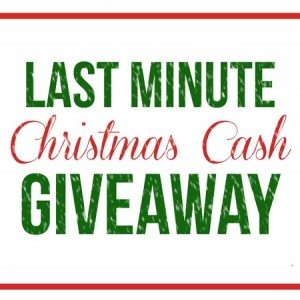 Christmas Cash #Giveaway Square
