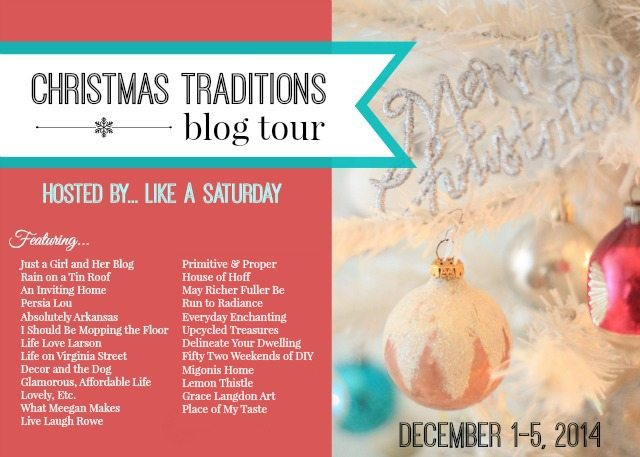 Christmas Traditions Blog Hop with Live Laugh Rowe and Friends