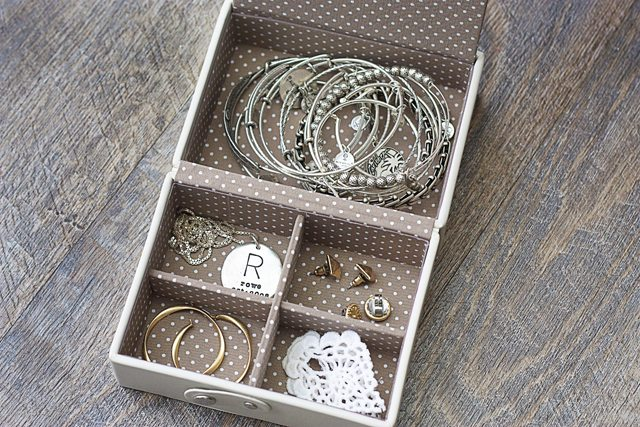 Folding Travel Travel Tray from The Container Store® is perfect for jewelry!