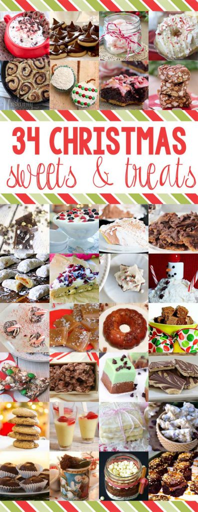34 Christmas Sweets and Treats with www.livelaughrowe.com