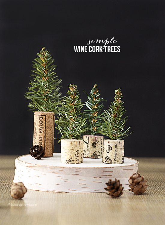 Simple wine cork trees rustic wine cork trees live laugh rowe jpg