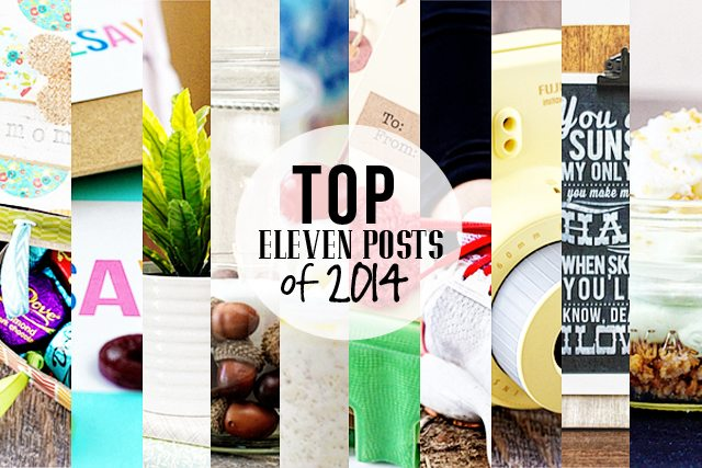 A quick year in review sharing the Top 11 Posts of 2014.  www.livelaughrowe.com