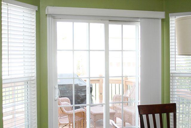 Valance Window Treatments Sliding Doors
