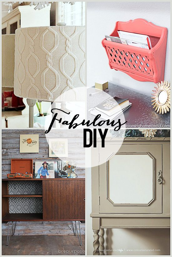 Fabulous DIY Features - Live Laugh Row