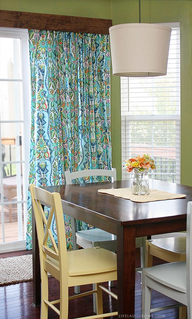 Diy Window Treatment For Sliding Glass Doors