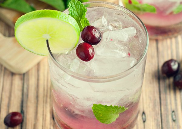cranberry mojito - a simple pantry