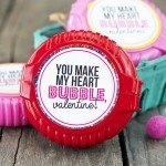 Bubble Gum Valentines Printable