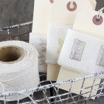 Make Your Own Hand Stamped Ribbon