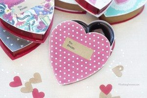 DIY Valentine Gift Box. Upcycled Box of Chocolates.