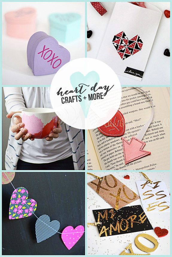Heart Day Crafts and More featuring YOU!  www.livelaughrowe.com