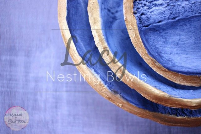 Lacy Nesting Bowls from Woods of Bell Trees