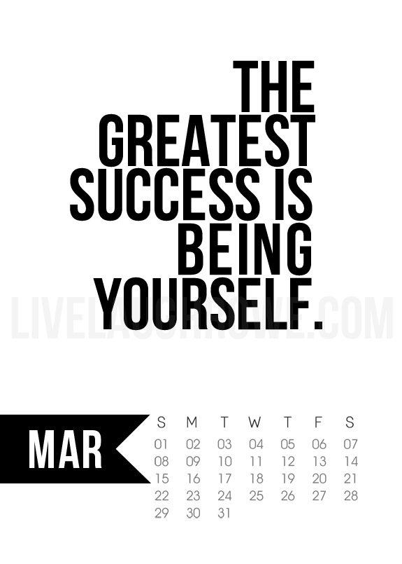 calendar black and white quotes quotesgram
