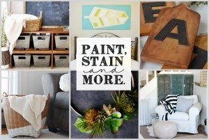 Paint, Stain and MORE! DIY Projct Features