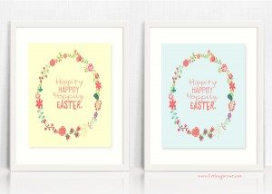 Hippity Happity Hoppity Easter Printable