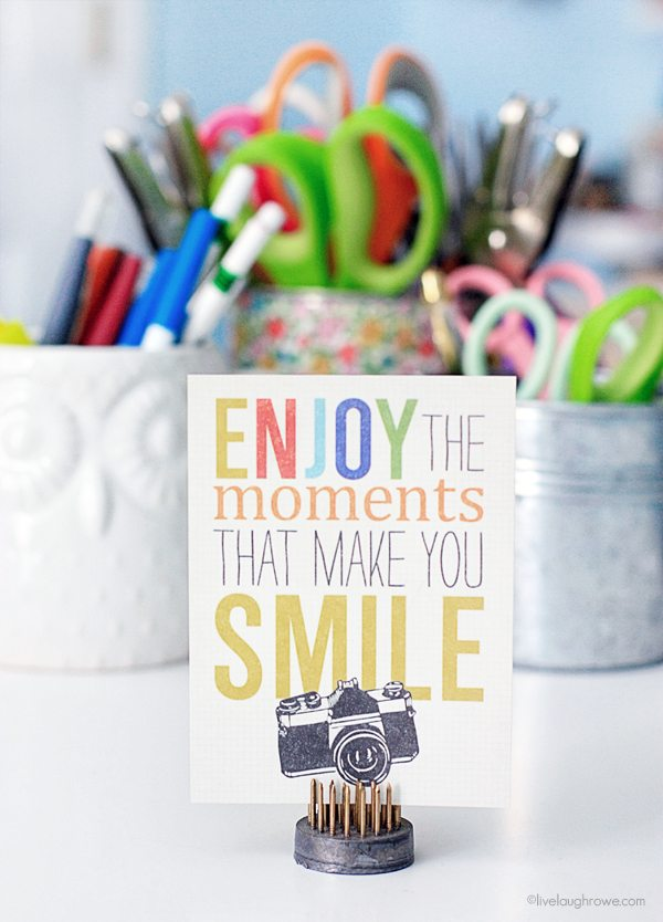 Enjoy the moments that make you smile! #quote