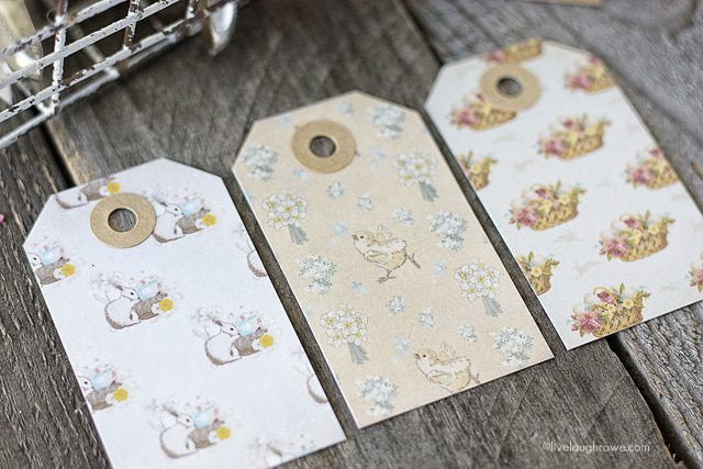 These free printable Easter Gift Tags are darling!! Found at livelaughrowe.com