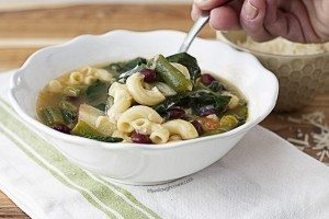 Warm up to a bowl of this hearty Southern Italian Stew. Recipe at livelaughrowe.com
