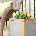DIY Paver Planter Box