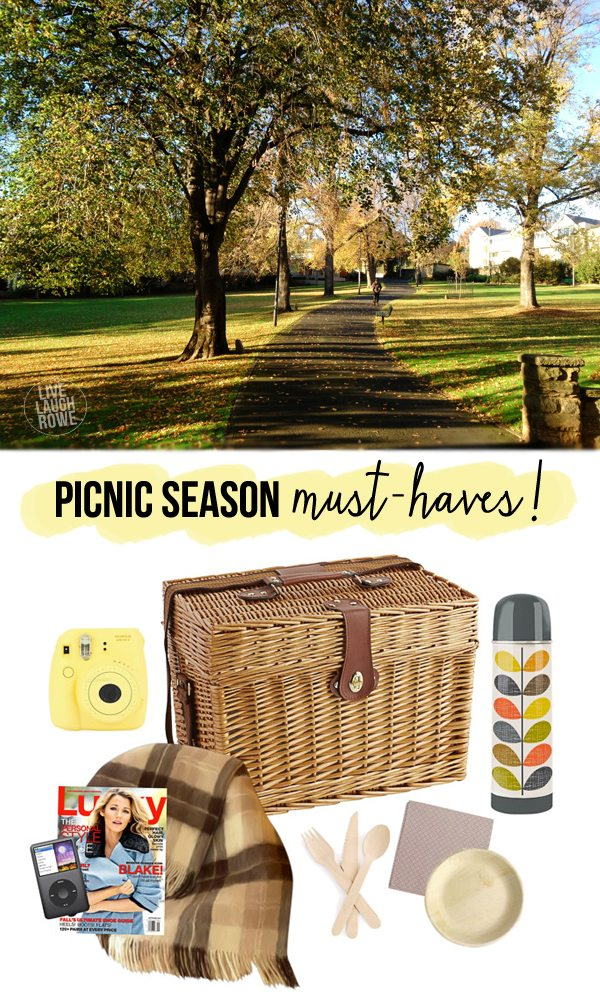 I love picnic season!  These are some great picnic must-haves when planning the next family picnic or date night.   www.livelaughrowe.com