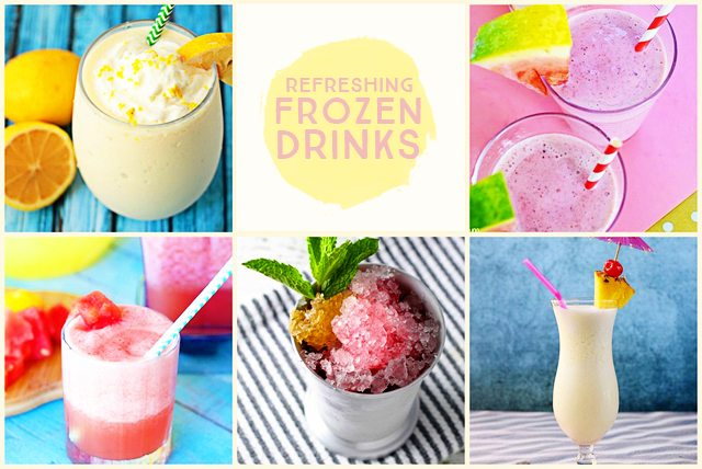 Refreshing Frozen Drinks - Live Laugh Rowe