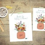 Thanks for Helping us Bloom | Teacher Appreciation Printable