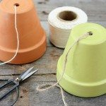Terra Cotta Pot Twine Dispenser