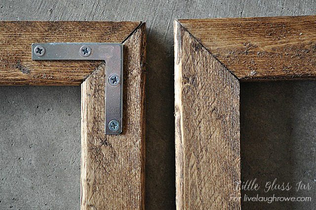 how to make a picture frame 2 small easy diy rustic