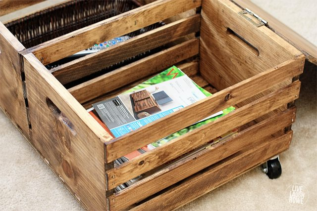 upcycling repurposing painted how furniture hometalk wood diy ottoman crate to milk