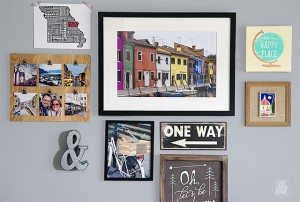 Travel-Themed Gallery Wall