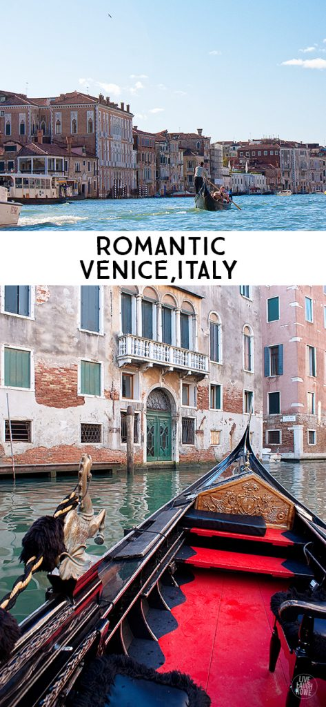 Venice, Italy. Exploring a city made up of a hundred islands by water boats and wandering the thousands of alleys. www.livelaughrowe.com