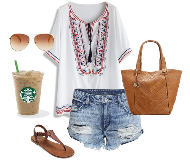 Summer Fashion Ideas.  Boho Summer Outfit - Live Laugh Rowe