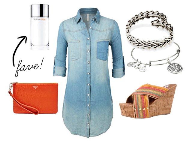 Summer Fashion Ideas.  Denim Dress - Live Laugh Rowe
