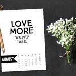 August 2015 Calendar | Free Printable