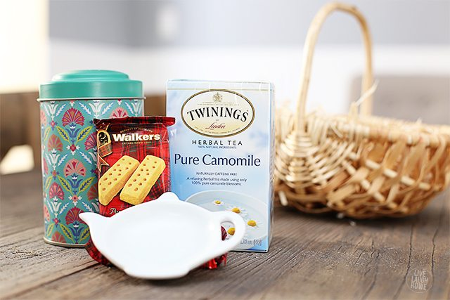 Have a friend who is a tea lover?  Whip up this fabulous gift basket on a dime from World Market.  www.livelaughrowe.com